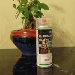 Spray Διαλύτου Fixative - El Greco