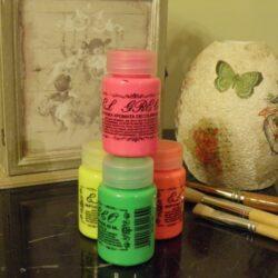 Aκρύλικα χρώματα decoupage fluo 60 ml - El Greco