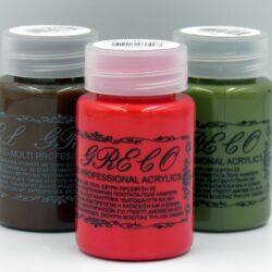 Ακρυλικά χρώματα professional multi – υβριδικά 60ml - El Greco